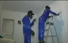 When you hire Jamaicans to paint your house